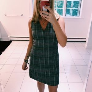 THEORY EASY V SHIFT DRESS